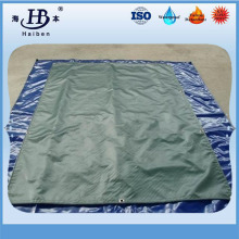 Smooth pvc double coated tarpaulin for truck