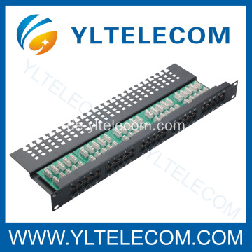3 Stimme Patch Panel 50port