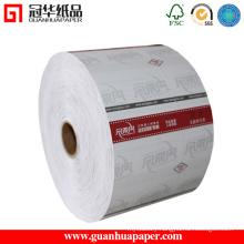 ISO9001 Cash Register Paper Type 80mm 30m 1+0