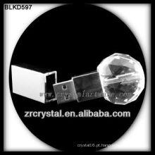 forma de bola de cristal flash USB disco BLKD597