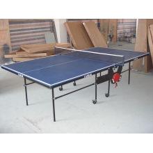 Tenis de mesa de borde de acero (TE-17)