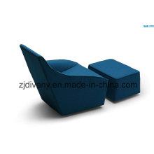 Canapé tissu seul canapé meubles de loisirs (D-54)
