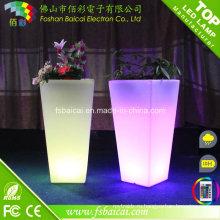 Украшение светодиодной подсветкой Цветочный горшок/сад Flwer Плантатор зажег