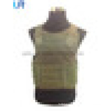 NIJ IIA-IV Military Green Body Armor Vest with Lightweight Bulletproof Panel