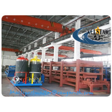 12 meters discontinuous pu sandwich panel production line/ polyurethane sandwich panel product line