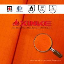 Tela modacrílica del algodón de la alta visibilidad de Xinke para la ropa protectora