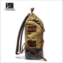 Высокое качество прочный холст Открытый рюкзак