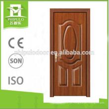 Design simples de alta qualidade interior melamina porta da sala de estar