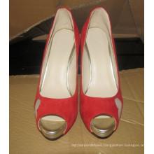 New Design Ladies High Heel Wedding Dress Stiletto (HCY02-1625)