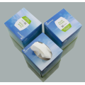 White custom napkins in the box