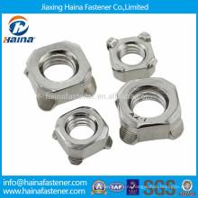 DIN928 в ассортименте нержавеющая сталь квадратная свариваемая гайка