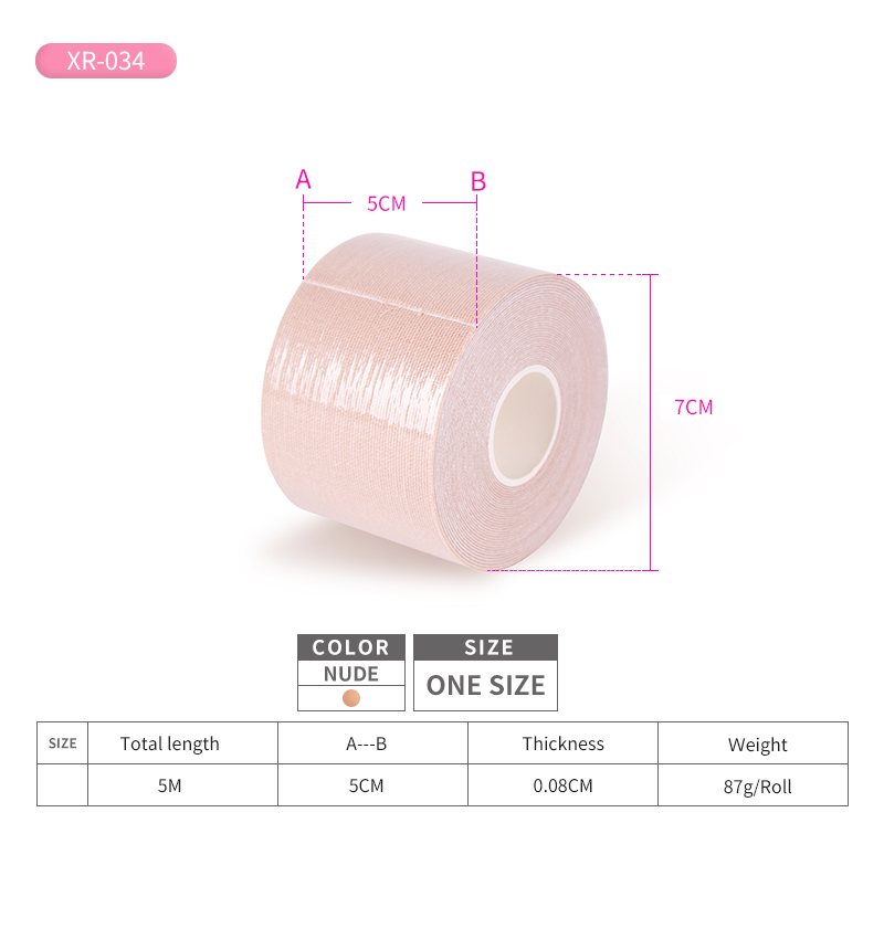waterproof boob tape double sided breast tape tape for breast support boob tape