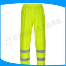 Pantalones reflectantes de seguridad EN471 Mesh Hi visibility