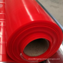 Factory Price Red Color Silicone Rubber Sheet, Dark Red Color Silicone Sheet