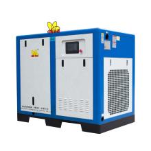 90KW Direct Drive Professional Permanent Magnet Screw Air Compressor Low Pressure