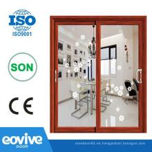 Alta calidad y aluminio profesional puerta de baño cristal