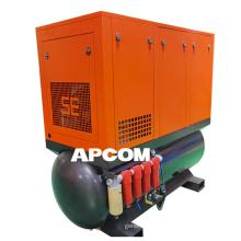 APCOM High Pressure Kaishan Laser Cutting Machine Integrated Air Compressor For Laser Cutting Metal