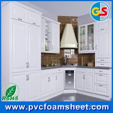 Usine de matériel de feuille de mousse de PVC de Cabinet de salle de bains en Chine