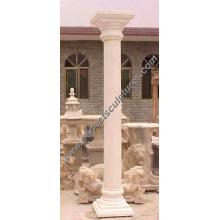 Stone Marble Granite Sandstone Hollow Roman Column (QCM016)