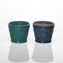 Supports en céramique de fleur de prunier chinois pour la cire parfumée