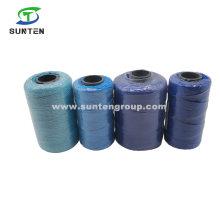 High Tenacity PE/PP/Polyester/Nylon Plastic Twisted/Braided Multi-Filament Rope/Baler/Fishing Twine/Packing Line (210D/380D) by Spool/Reel/Bobbin/Hank