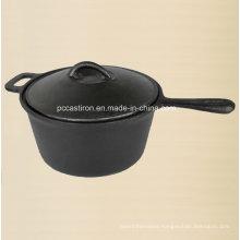 Preseasoned Cast Iron Milk Pot 2qt