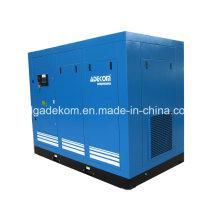 Compresseur d'air à vis à entraînement direct rotatif refroidi à l'air (KE132-10)