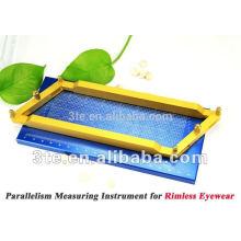 Instrument de mesure de parallélisme pour lunettes