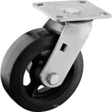 Heavy Duty Rubber on Iron Core Casters