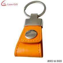 Custom Souvenir Leather Keychain
