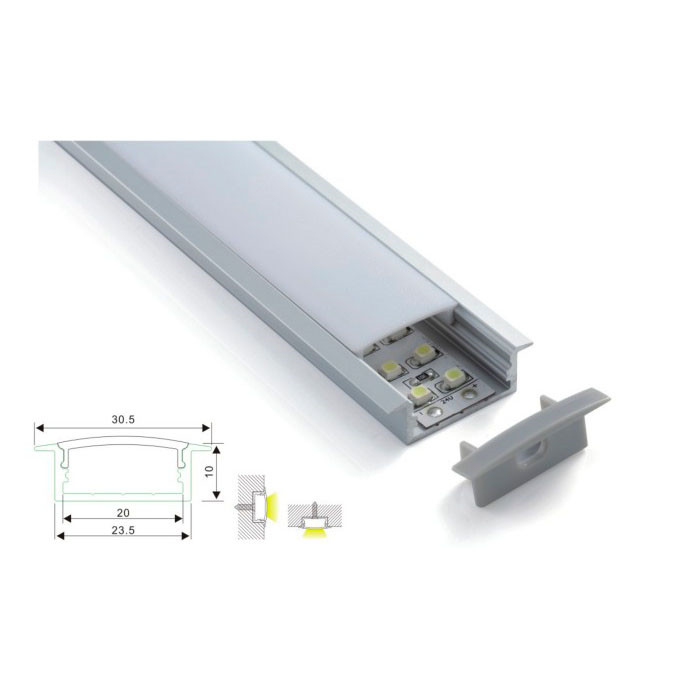 Architectural Dimmable Linear Light