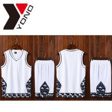 Nueva camiseta de baloncesto de hombre de encargo barato Jersey Sport 100% poliéster