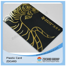 Cmyk Printing Plastic Card/Cheap Plastic Membership Card