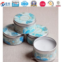 Wholesale Round Shaped Metal Candle Holder for Candle