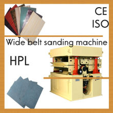 High pressure laminate brushing machine/HPL griding machine/ sanding machine for HPL back