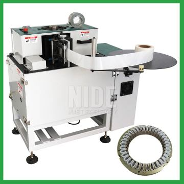 Three phase motor stator paper insertion equipment