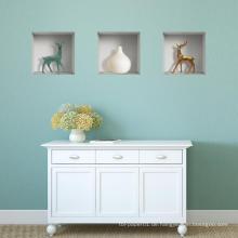PVC Vinyl Removeable Home Decor 3D Wandkunst Aufkleber Dekoration