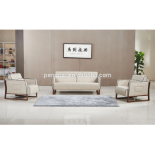 Golden quality modern leather PU sofa design for sale 09