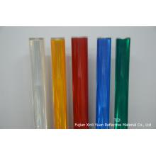 Feuilles réfléchissantes PVC transparente par rouleau