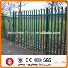 Arts and crafts wrought iron fence