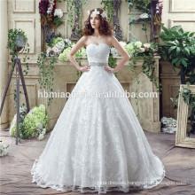 Romantic see through spaghetti straps birde dress hand beaded backless wedding dress turkey laced