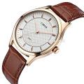 el nuevo par de la voga del diseño mira los relojes del acero inoxidable del movimiento del cuarzo de Japón