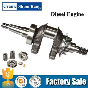 Shuaibang Competitivo Precio Maquinaria Motor Gasolina Inversor Generador Cigüeñal Fabricación