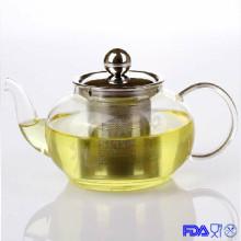 Стеклянный жаростойкий чайник (XLRH-006G 600 мл)