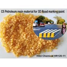 Low Odor C5 Petroleum Resin for 3D Road Marking Paint