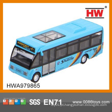 1:64 Diecast Bus puxar para trás carro 6PCS / BOX