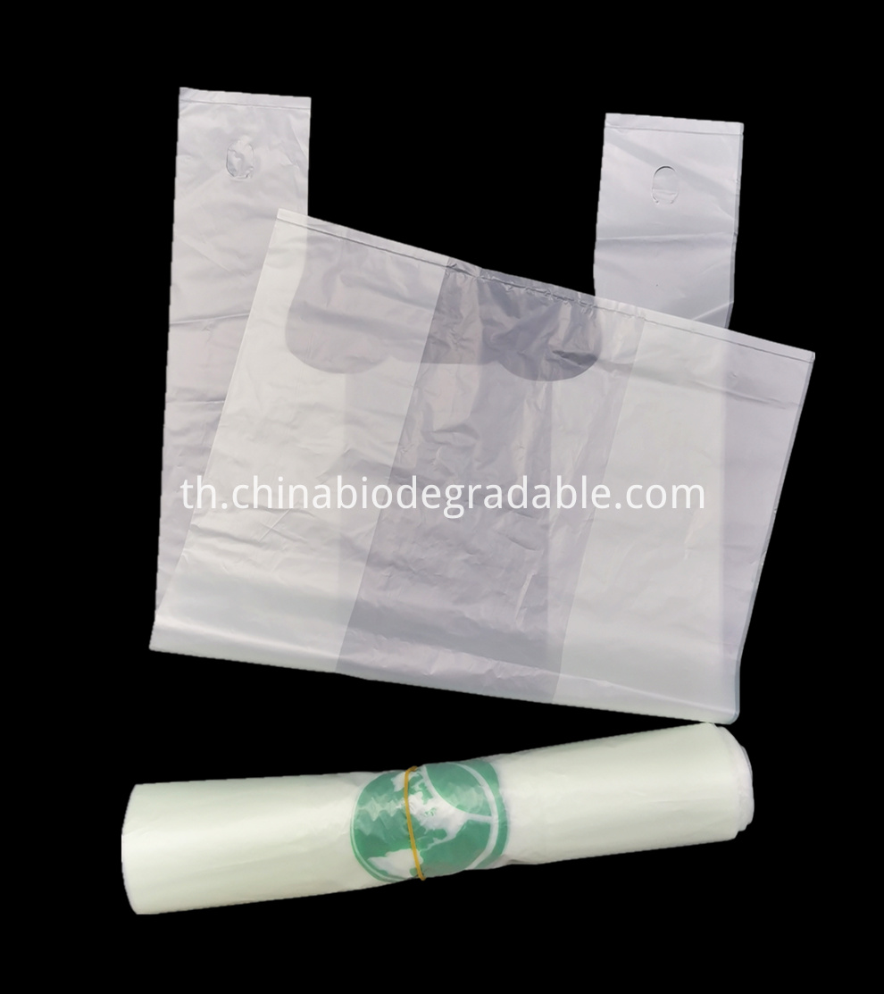 ASTM D6400 certified Biodegradable Bags