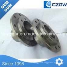 Kundenspezifische Getriebeteile Flansch für verschiedene Maschinen von Czgw