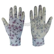 Polyester Knitted Work Glove with Nitrile Dipping (N1561)
