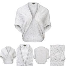 Lady Top Dye Short Sleeve Top Grade Pure Cashmere Knitwear
